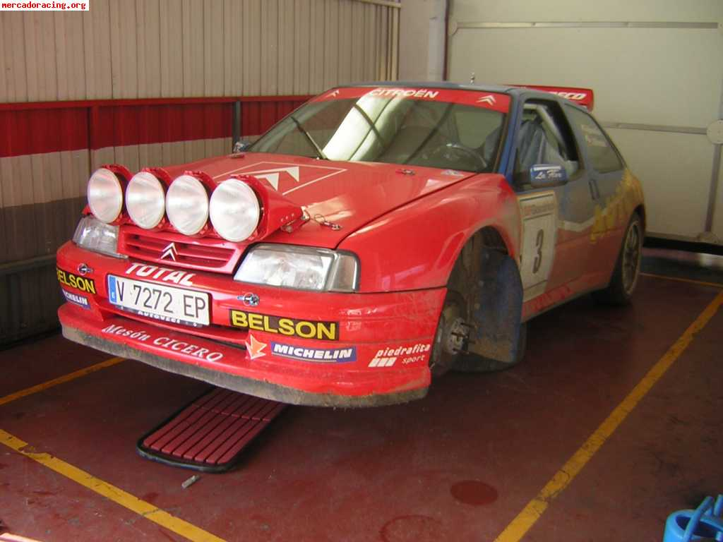 Citroen Zx Kit Car De Rallyes Venta Coches Competicin